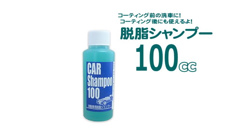 脱脂シャンプー100