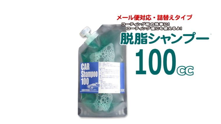 [詰め替え用パック入] 脱脂シャンプー100 (100cc) 【メール便対応商品】